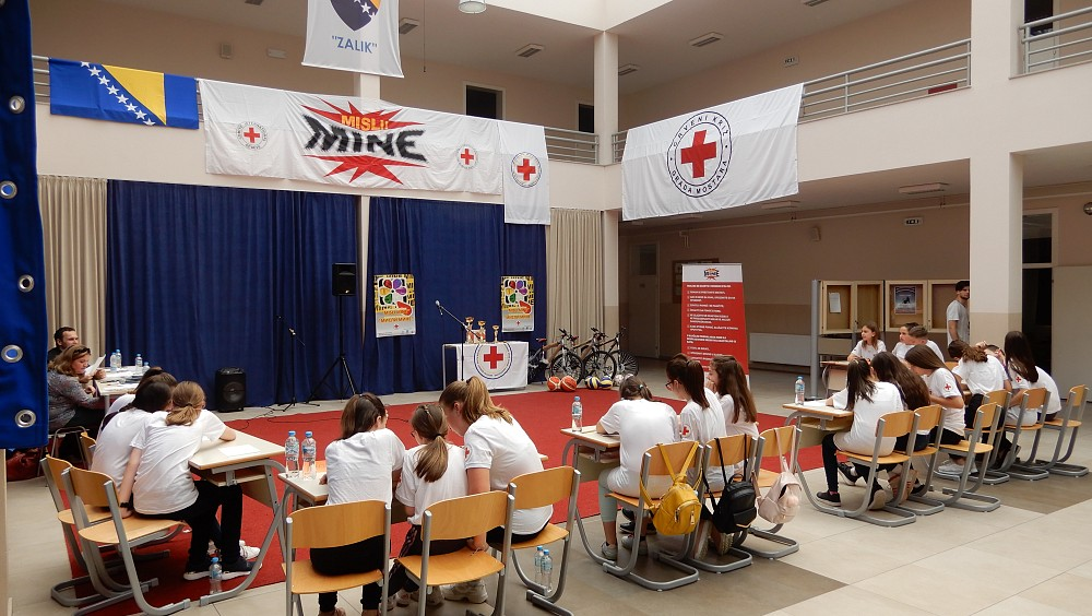 The Final Competition (Photo: Red Cross Society of BIH).