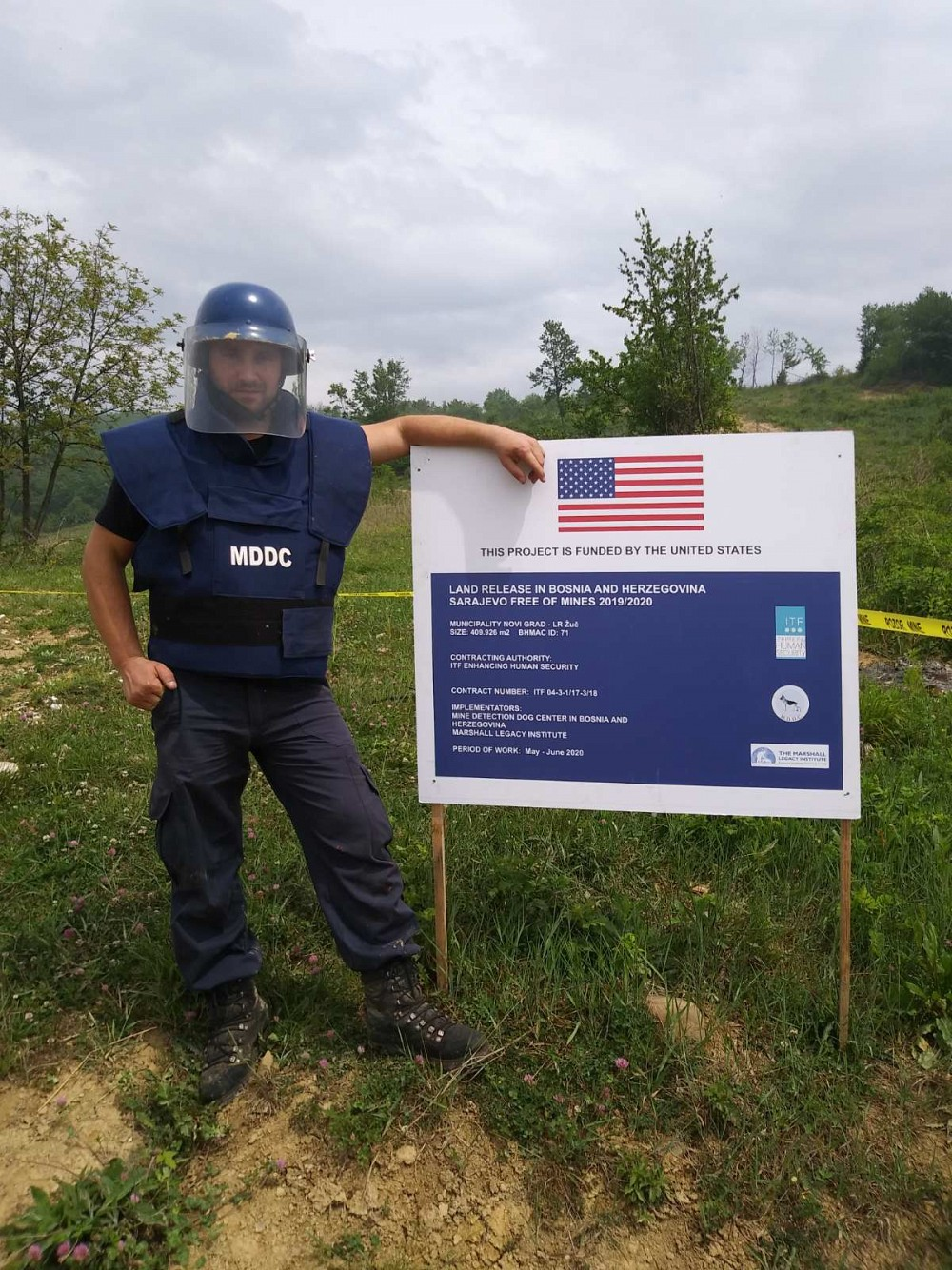 Mine Free Sarajevo, a United States-funded project, has reached an important milestone