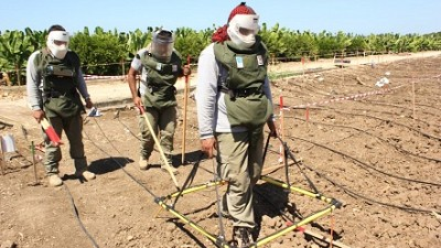Clearance of landmine/ERW contaminated land in Lebanon