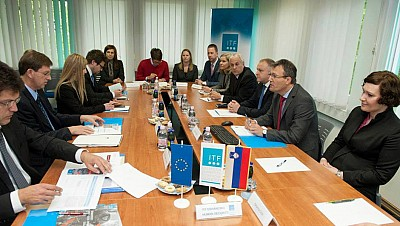 Prime Minister of the Republic of Slovenia visits ITF
