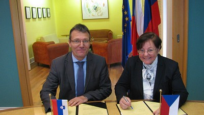 Czech Republic Provides a Donation for ITF Activities