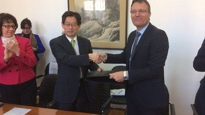 Japan and ITF Strengthen Partnership