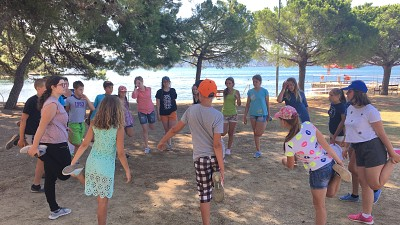 Children from Belarus and Ukraine Attending Rehabilitation Programs in Slovenia