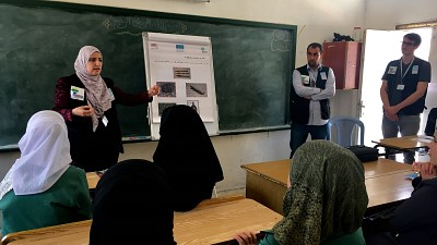 ITF Supports RE Workshops in Jordan