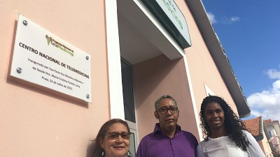 Inauguration of Two New Telemedicine Centres in Cabo Verde