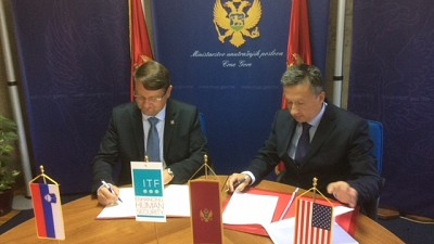 ITF Signs a Memorandum of Understanding with Montenegro