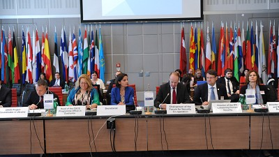 ITF Attends the Meeting of OSCE Forum for Security Co-operation