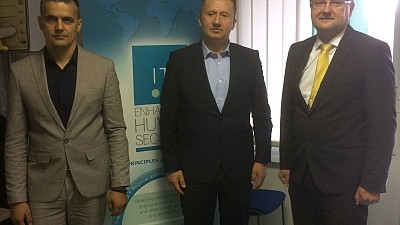 Representatives of Montenegrin Emergency Management Directorate at ITF Headquarters