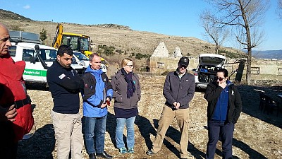 ITF Monitors the Final Phase of Hotspots Clearance in Albania
