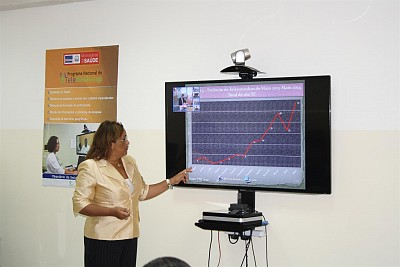 Dr Vanda Azevedo, Coordinator of National Telemedicine Program in Cape Verde