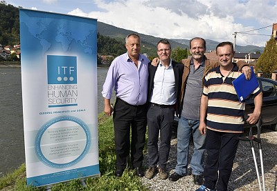Mine victims from Goražde, rehabilitated through ITF