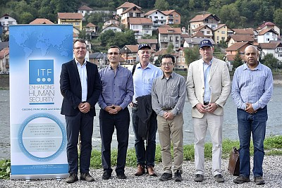 ITF Director with representatives of Italy, Belgium, Japan, Slovenia and the Czech Republic