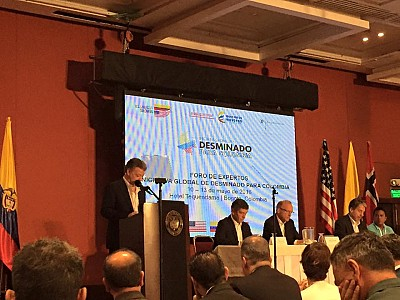 Opening Remarks by the President of Colombia, Juan Manuel Santos