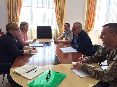 Meeting at Ministry of Defense of the Republic of Albania in Tirana to discuss future cooperation in the field of ammunition stockpile reduction.
