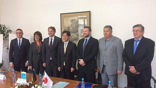 Japan continues to support ITF activities in BiH