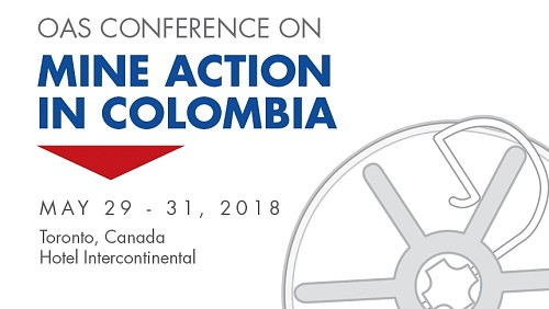 OAS organizes a Workshop on Mine action in Colombia