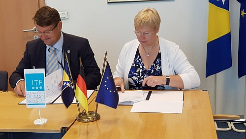 Germany Continues to Support ITF in Bosnia and Herzegovina