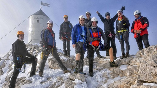 Five Mine Victims from Bosnia and Herzegovina Climbed Mt. Triglav