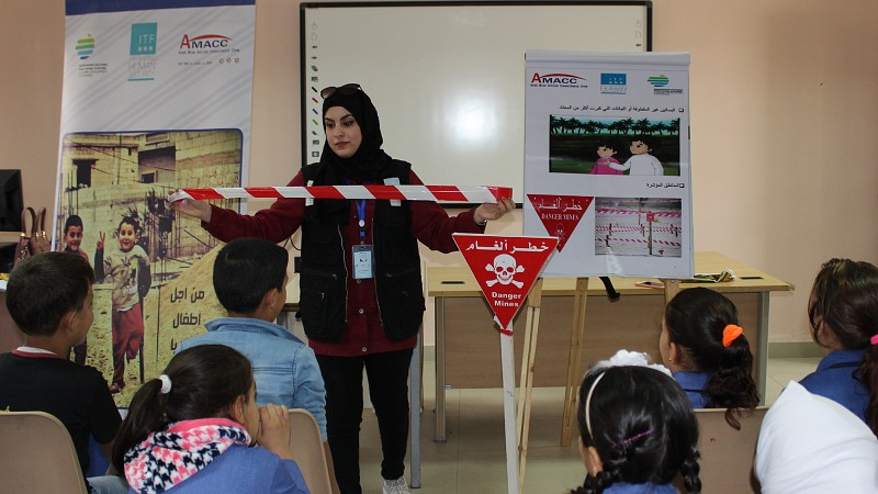 Over 21,000 Syrian Refugees in Jordan Receive Mine Risk Education