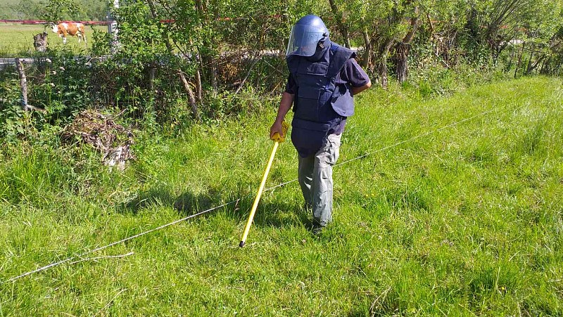 Cluster Munitions Clearance Project in Sjenica Enables Safe Use of Agricultural Land